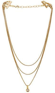 Фото - Ожерелье glitter & gold - Frasier Sterling цвет металлический золотой