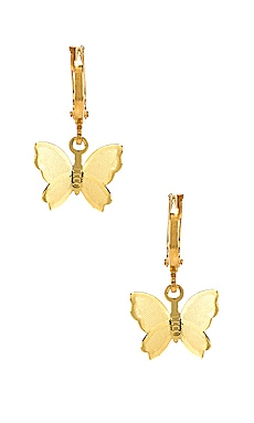 Butterfly Huggie Earrings Frasier Sterling $44 BEST SELLER