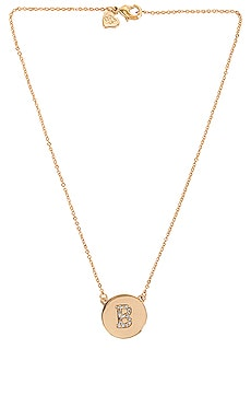 Initial Coin Necklace Frasier Sterling $62