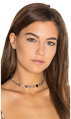 Frasier Sterling Dazed and Confused Choker in Purple Heart