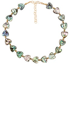 Frasier Sterling x REVOLVE Dazed & Confused Choker in Mother of Pearl Hearts