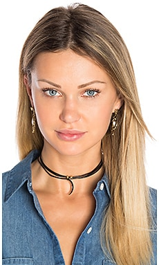 3 Wrap Ransom Choker en Black Moon