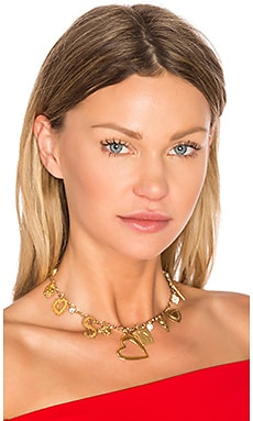 Jenny from the Block Choker in Gold