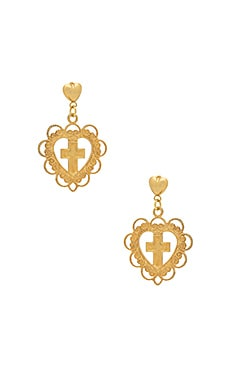 BOUCLES D'OREILLES GOOD GIRLS GO TO HEAVEN
