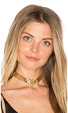 Im Yours Choker in Gold