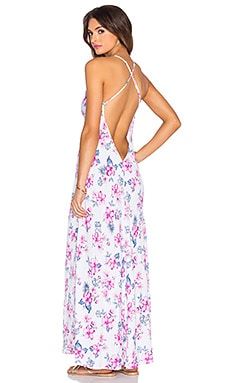 Frankie's Bikinis Rae Maxi Dress in Floral