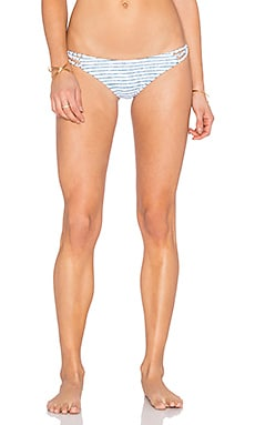 Frankies Bikinis Kaia Bikini Bottom in Stripe