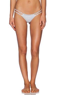 Frankie's Bikinis Ocean Side Bikini Bottom in Hamptons