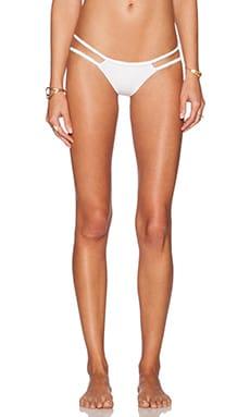 Frankie's Bikinis Ocean Side Bikini Bottom in Seashell