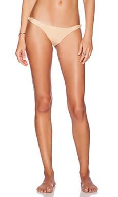 Frankie's Bikinis Malibu Bikini Bottom in Nude