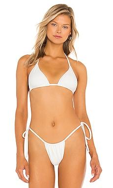 Tia Ribbed Bikini Top Frankies Bikinis $22 (FINAL SALE)