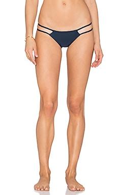 Frankies Bikinis Oceanside Bikini Bottom in Indigo