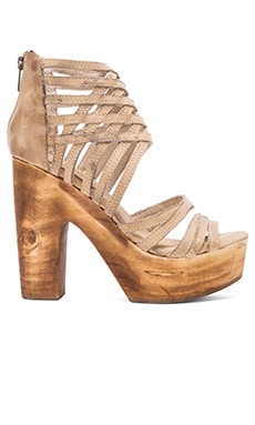 Freebird by Steven Costa Heel in Taupe