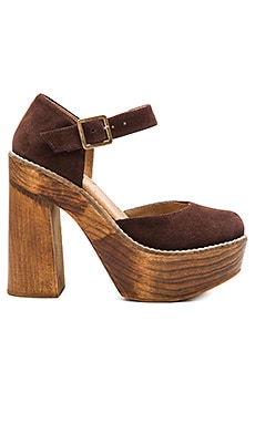 Freebird by Steven Poppy in Brown Suede