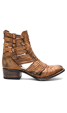 Sally Bootie in Cognac