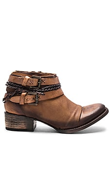 Freebird by Steven Simba Bootie in Cognac