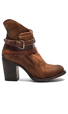Blaze Bootie in Tan Suede