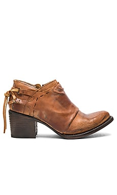 Sandi Booties in Cognac
