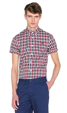 Herringbone Gingham Shirt