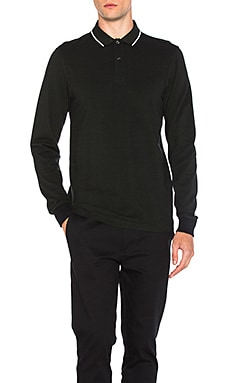 Long Sleeve Twin Tipped Polo