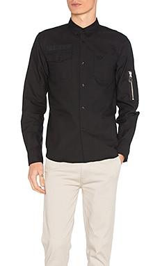 Рубашка оксфорд с карманами - Fred Perry SM1401 102