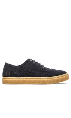 Fred Perry Davies Suede in Navy