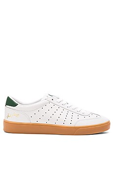 Fred Perry Umpire Leather in White