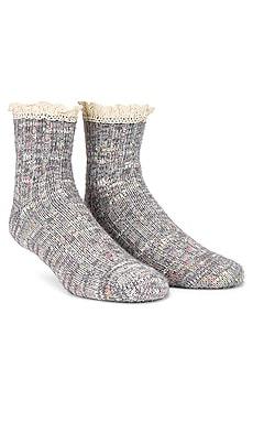 Firecracker Flecked Sock Free People $14