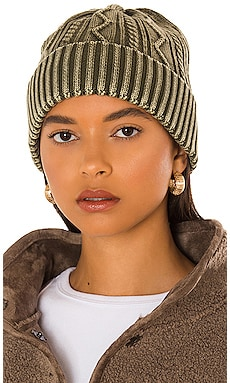 Stormi Washed Cable Beanie Free People $28