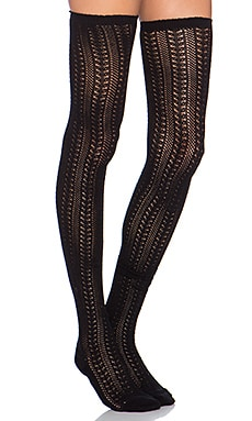 Free People Hammock Thigh High* in Black