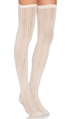 Free People Hammock Thigh High in Oatmeal Heather