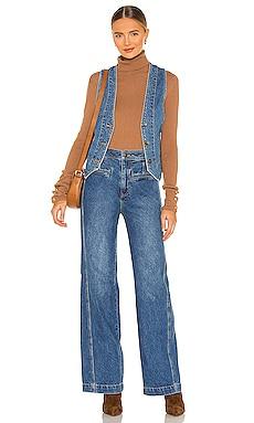 Modern Meadow Denim Suit Free People $168