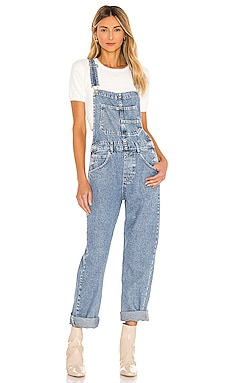 Ziggy Denim Overall Free People $98 NEW