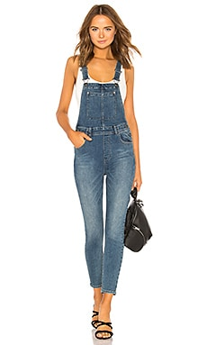 Slim Ankle Denim Overall Free People $77
