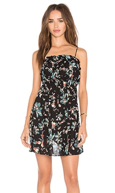 Free People Jolene Mini Slip in Black Combo