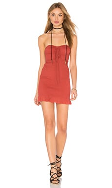Free People Beach Babe Dress in Terracotta