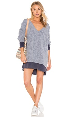 Free People All About It Dress in Blue