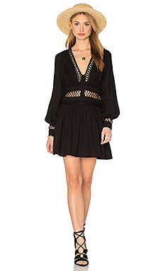 Free People I Think I Love You Dress in Black