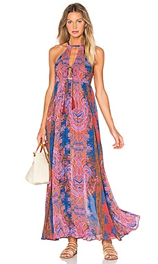 Free People Unattainable Dress in Pink Combo