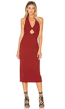 Free People All The Right Angles Dress in Red