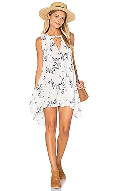 Snap Out of It Swing Dress in Ivory