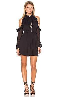 Free People You and I Mini Dress in Black