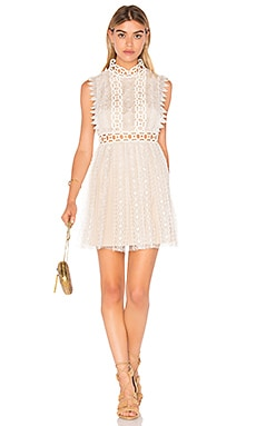 Forever Lace Babydoll Dress in Cream