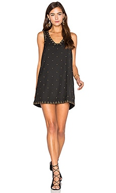 Soho Studded Dress en Noir