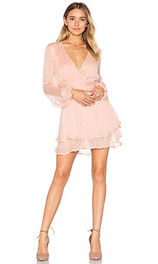 Daliah Mini Dress in Peach