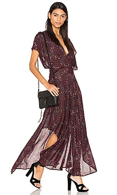 Livia Maxi Dress in Mauve