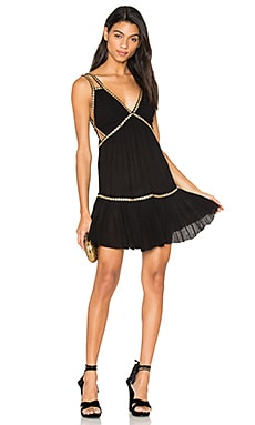 Shine Marisol Mini Dress in Black