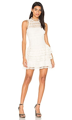 Meet Me at Midnight Mini Dress en Ivory