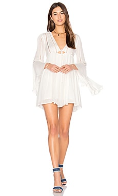 Romeo Mini Dress in Ivory