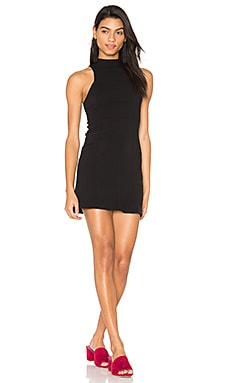 Kitty Kat Body Con Dress en Noir